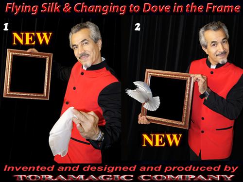 Flying Silk to Dove in Frame - Tora