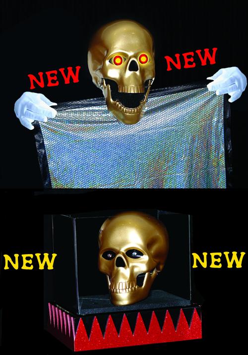 Zombie Skull w/ Lite-Up Eyes - Tora