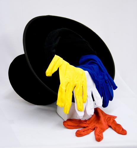 Triple Quick Color Change Gloves w/ Hat