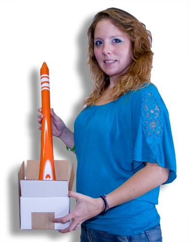 Appearing Crayon w/ Tip, Orange - 4 Feet