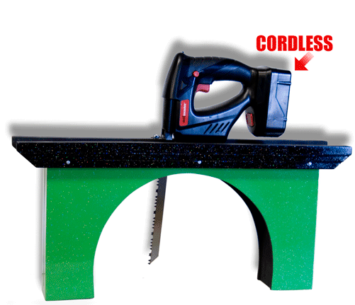 Visible Sawing - Cordless Saw