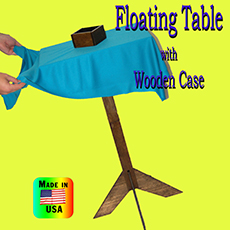 Floating Table w/ Wood Case
