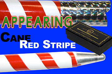 Appearing Cane, Recoil Stopper - Red & White