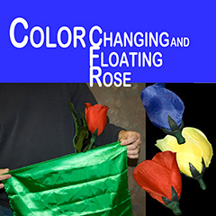 Color Changing Floating Rose - 3 Changes