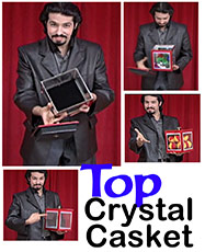 Top Crystal Casket w/ DVD - Tora