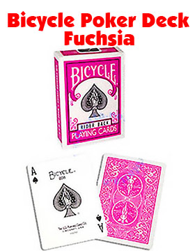 Bicycle Deck - Fuchsia
