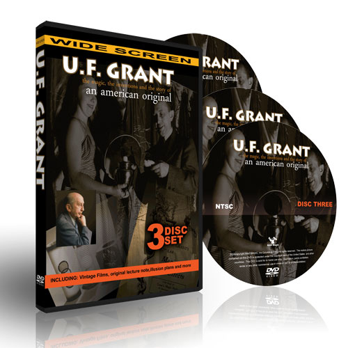 U.F.Grant 3 Box Set DVD - Collectors