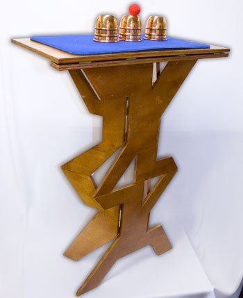 Folding Table, Quick, Wood - CUT Out