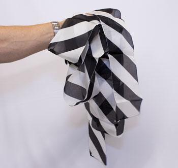 Silk - Streamer, Zebra - 16 ft x 4 inches