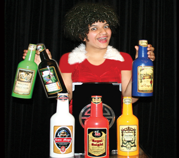 App 6 Colorful Bottles from Box - Tora