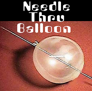 Needle through Balloon