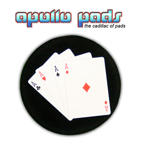 Apollo Table Hopper 7x12 GREEN Close Up Magic Tric