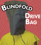 Blind Fold Drive Bag - Mental / Stage / Magic Tric