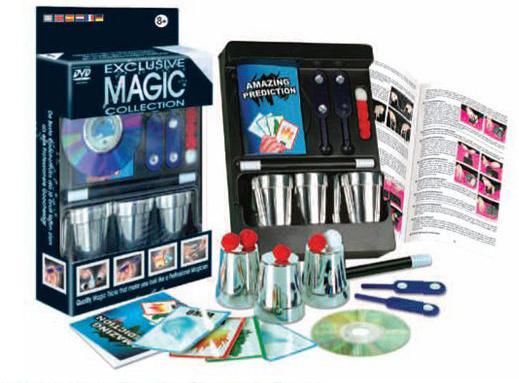 Magic Set - Pocket #1 Cups & Balls w/DVD