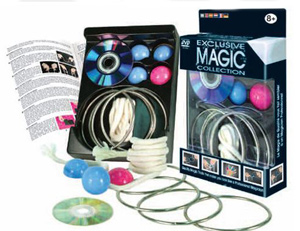 Magic Set - Pocket #4 Linking Rings w/ DVD
