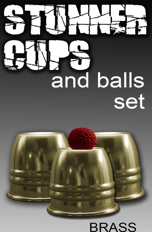 Stunner Cups, Set - Brass