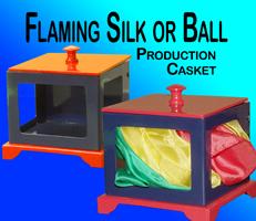 Flaming Silk/Ball Casket - Jumbo