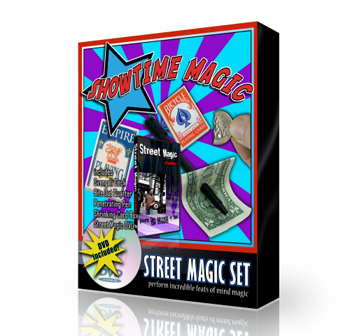 Magic Set - Street Magic w/ DVD