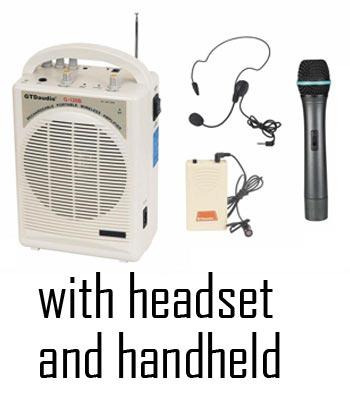 Portable Amp- Headset & Handheld