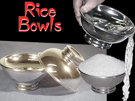 Rice Bowls Set of 3- Double Pour