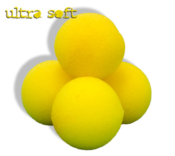 "Sponge Balls 1.5"" Ultra SS Yellow"