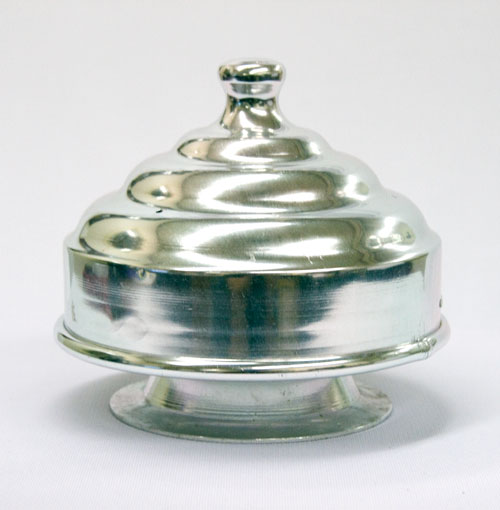 Chick Pan w/ Pedestal, Alum - Double