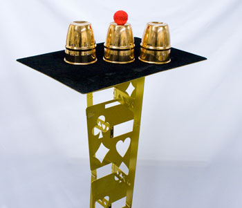 Harbin Folding Table - Superior, Gold