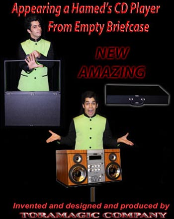 Hamed CD Player from Briefcase - Tora