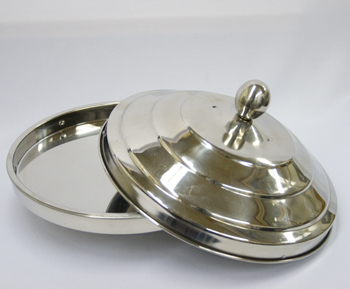 Duck Pan Aluminium High Polish