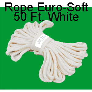 Rope Euro-Soft 50 Ft. White