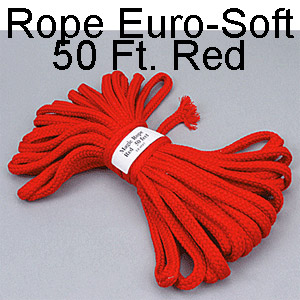 Rope Euro-Soft 50 Ft. Red