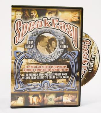 SpeakEasy DVD - D. Harlan