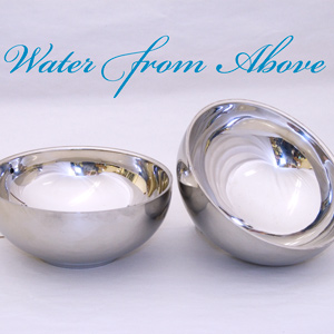 Water from Above Bowls Set - Chrome