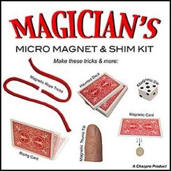 Micro Magnet & Shim Kit - Magicians