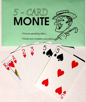 Five Card Monte - Bicycle