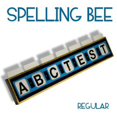 Spelling Bee - Regular