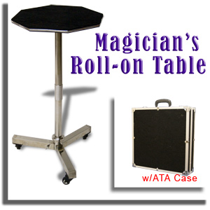 Magician Roll-On Table w/ ATA Case