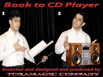 Changing Book to  CD Player - Tora