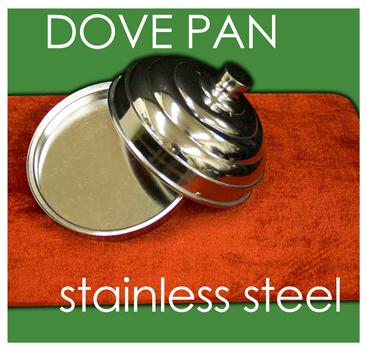 Dove Pan, Single - Stainless Steel