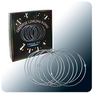 "Linking Rings 12"" - Stainless Steel 8 Set"