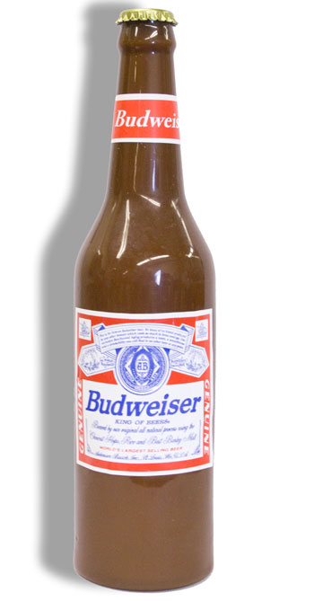 Vanishing Beer Bottle - BUD