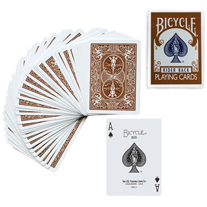 Bicycle Deck - Brown