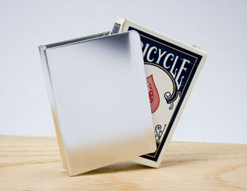 Card Clip, Aluminum - Silver