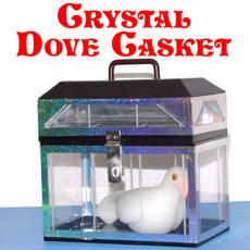 Crystal Dove Casket