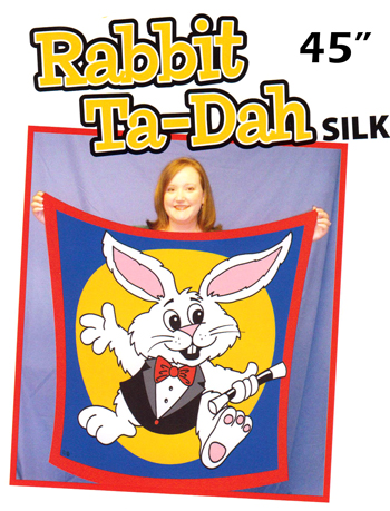 "Silk - Rabbit Ta-Dah, Giant - 45"" - D. Ginn"