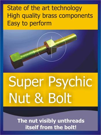 Super Psychic Nut & Bolt