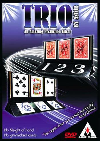 Trio w/DVD- Astor