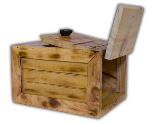 Bunny Box - Barn Look