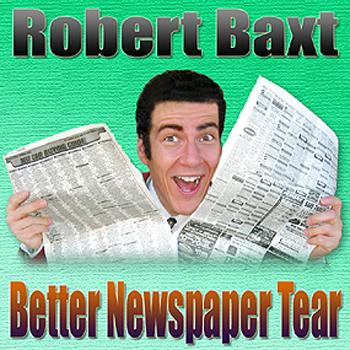 Baxt Newspaper Tear w/ DVD