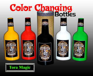 Color Changing Bottles #5 w/ DVD - Tora